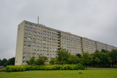 Alta palazzina di appartamenti Immagini Stock Libere da Diritti