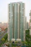 Alta palazzina di appartamenti di aumento Fotografia Stock