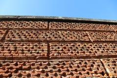 Alta parete in mattoni Fotografia Stock