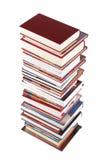 Alta pila di libri Immagine Stock Libera da Diritti