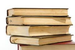 Alta pila di libri Immagini Stock Libere da Diritti
