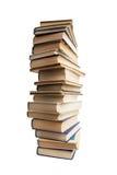 Alta pila di vecchi libri Immagini Stock Libere da Diritti