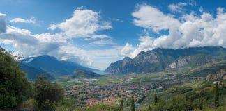 Alta polizia Trentino del lago Immagine Stock Libera da Diritti
