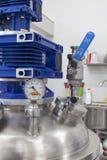 Alta pressione d'acciaio della caldaia Fotografie Stock