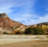 Alta prospettiva del deserto - New Mexico Immagini Stock Libere da Diritti