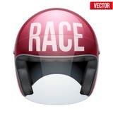 Alta qualità che corre il casco del motociclo Immagini Stock