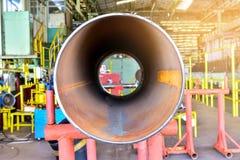 Alta qualità del tubo d'acciaio del metallo Immagine Stock
