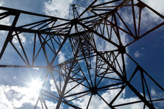 Alta resistencia a las redes eléctricas Foto de archivo