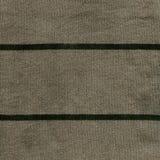 Textura de la tela de algodón - gris/verde con las rayas verde oscuro Imagen de archivo