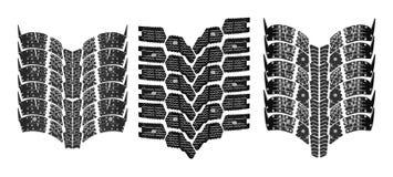 Alta resolución de la impresión del neumático Foto de archivo