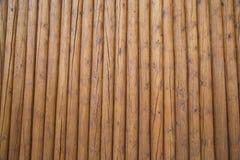 Alta rete fissa di legno Fotografie Stock Libere da Diritti