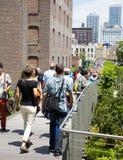 Alta riga di New York City Fotografia Stock Libera da Diritti