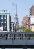 Alta riga sosta a New York Immagini Stock Libere da Diritti