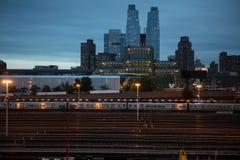 Alta riga sosta a New York Fotografie Stock Libere da Diritti