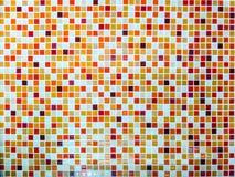 Alta risoluzione calda di colore di tono della lava delle mattonelle della parete del mosaico Immagini Stock Libere da Diritti