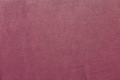 Alta risoluzione di cuoio rosa della superficie di struttura del fondo Fotografia Stock