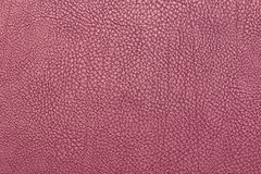 Alta risoluzione di cuoio rosa della superficie di struttura del fondo Fotografia Stock Libera da Diritti