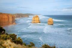 Alta roccia in mare Fotografie Stock Libere da Diritti