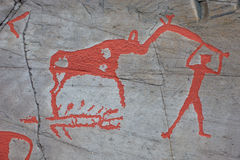 Alta rock art Stock Photos