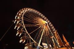 Alta ruota del traghetto Fotografie Stock
