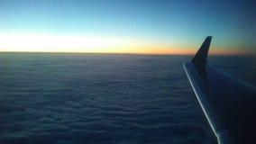 Alta salida del sol Fotos de archivo libres de regalías