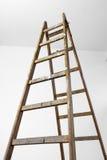 Alta scala di legno Fotografie Stock Libere da Diritti