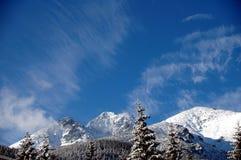 Alta scena 1 di Tatras Fotografia Stock Libera da Diritti