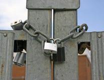Alta segurança! foto de stock royalty free