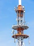 Torre di comunicazione Immagini Stock Libere da Diritti