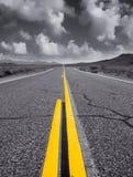 Alta sierra carretera Imágenes de archivo libres de regalías