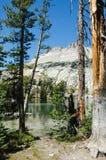 Alta sierra lago Imagenes de archivo