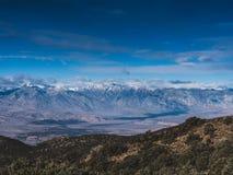 Alta sierra montagne, California Fotografie Stock Libere da Diritti
