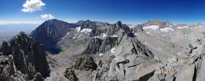 Alta sierra panorama Fotografia Stock