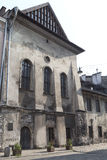 Alta sinagoga a Cracovia, Kazimierz - distretto ebreo, Polonia Fotografia Stock Libera da Diritti