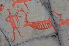 Alta skały sztuka Zdjęcia Royalty Free