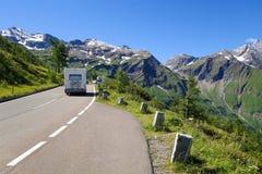 Alta strada alpina Immagine Stock Libera da Diritti
