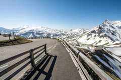 Alta strada alpina Immagine Stock