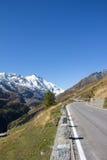 Alta strada alpina Carinzia Austria di Grossglockner Fotografie Stock