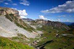 Alta strada alpina di Grossglockner Fotografie Stock
