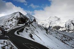 Alta strada alpina di Grossglockner Fotografia Stock
