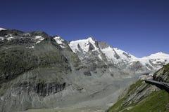 Alta strada alpina di Grossglockner Fotografia Stock Libera da Diritti