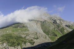 Alta strada alpina di Grossglockner Immagini Stock