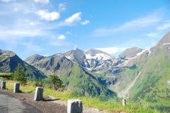 Alta strada alpina di Grossglockner. Fotografie Stock Libere da Diritti