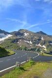 Alta strada alpina di Grossglockner. Fotografia Stock