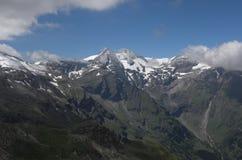 Alta strada alpina di Grossglockner, Fotografia Stock