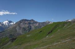 Alta strada alpina di Grossglockner, Fotografie Stock