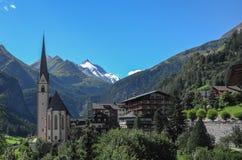 Alta strada alpina di Grossglockner, Immagini Stock Libere da Diritti