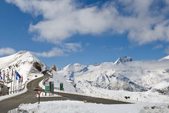 Alta strada alpina di Grossglockner Immagine Stock Libera da Diritti