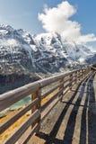 Alta strada alpina di Grossglockner in Austria Immagine Stock