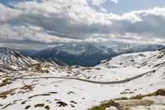 Alta strada alpina di Grossglockner in Austria Fotografia Stock